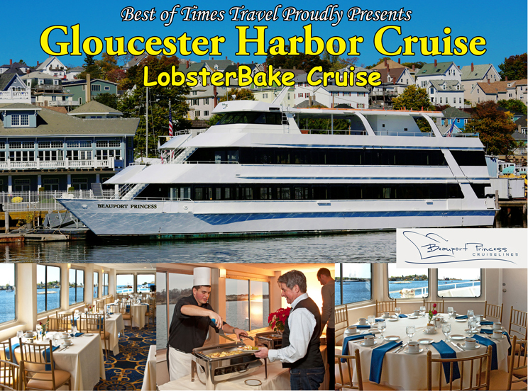 Gloucester Harbor Cruise - Lobsterbake Cruise | July, August 2018