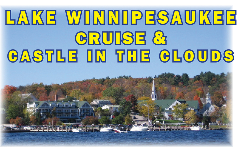 Lake Winnipesaukee & Castle in the Clouds | June, July, August, September 2018