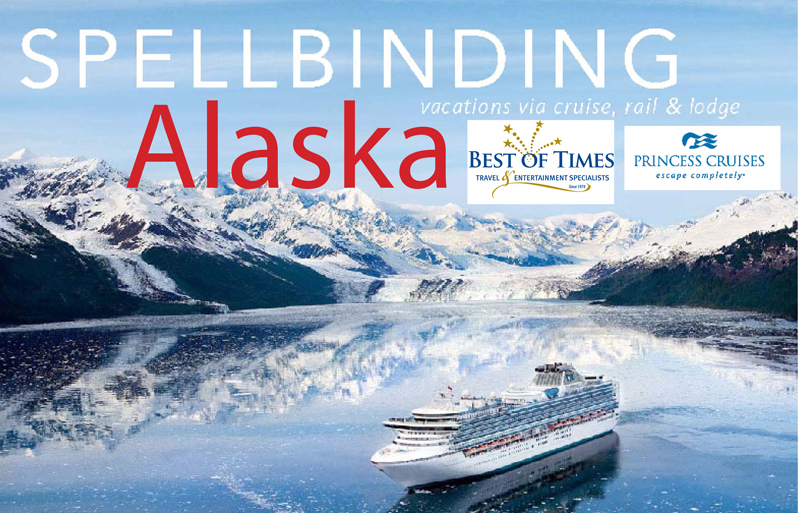 Alaska Land & Cruise w/ Princess Cruises | September 2018