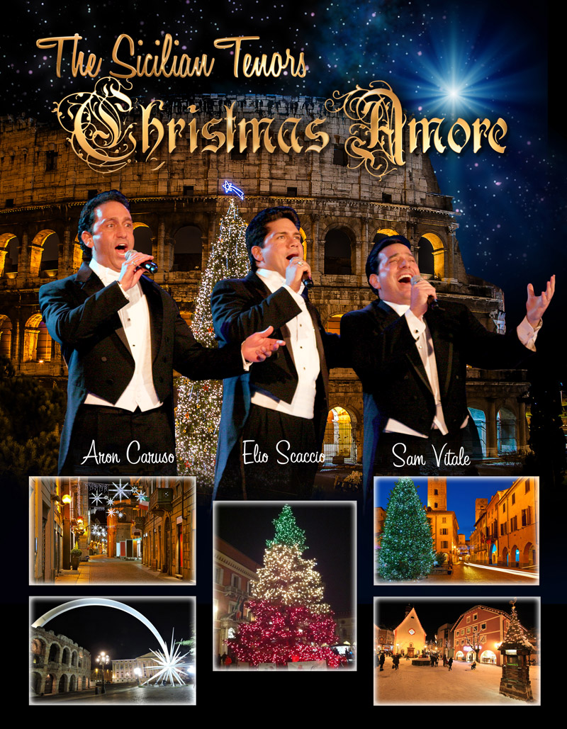 The Sicilian Tenors - Christmas Amore | December 2018